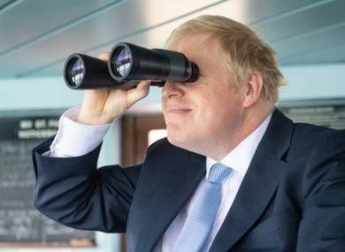Johnson is contesting his first election as Conservative leader.