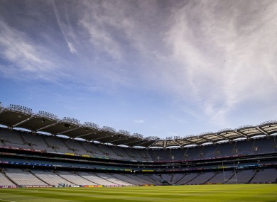 Croke Park hosts Saturday's All-Ireland intermediate club decider.