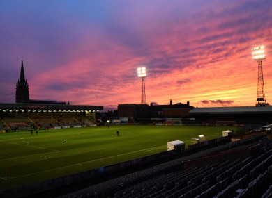 A general view of Dalymount Park.