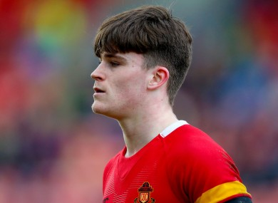 Aaron Leahy (file pic) was amongst the try-scorers today for CBC Cork.