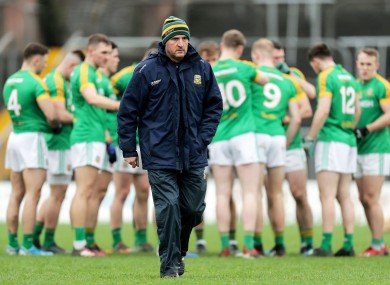 Andy McEntee's Meath outfit defeated Laois in the O'Byrne Cup.