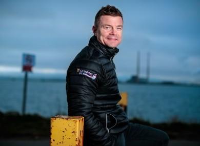 Guinness ambassador Brian O'Driscoll.