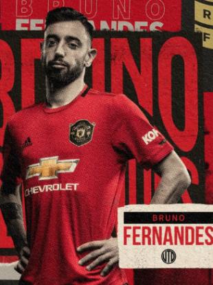 New signing: Bruno Fernandes.