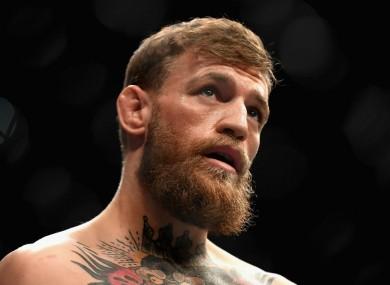 UFC fighter Conor McGregor.
