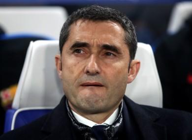 Ernesto Valverde [file pic].