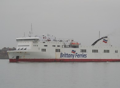 File photo. Brittany Ferries made the announcement yesterday.