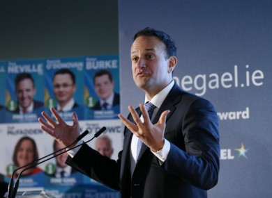 Varadkar said he wasn't going to get into auction politics on the pension matter.