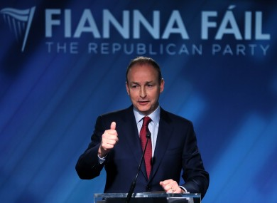 Micheál Martin clocked up a big bill for air travel when he was minister for health.