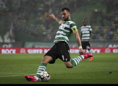 Bruno Fernandes (file pic).