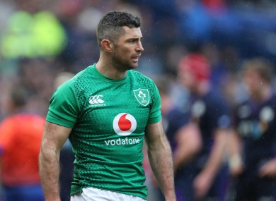 Rob Kearney during last year's Guinness Six Nations.
