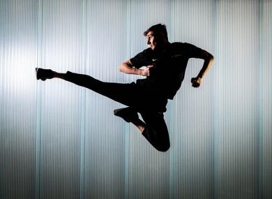 Jack Woolley, who will represent Ireland at Taekwondo at the 2020 Olympics.