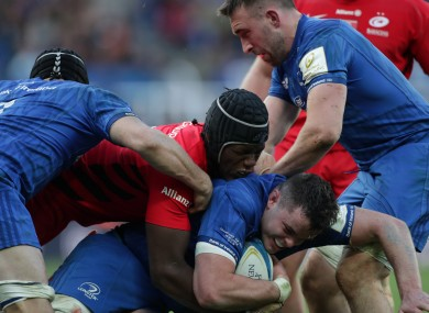 Leinster and Saracens are still the top two sides in Europe.