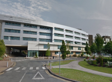 Cork University Hospital is one of the places impacted by overcrowding.