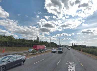 The incident took place on the Naas Road.