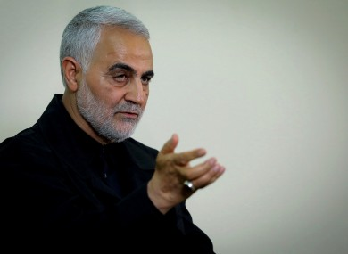 File photo. Qassem Soleimani.