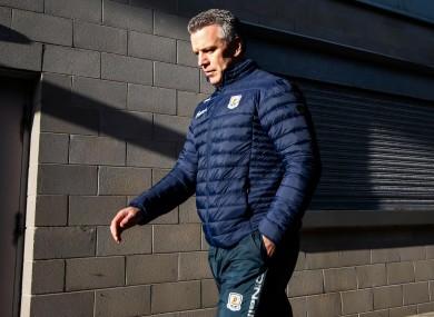 Galway manager Padraic Joyce.