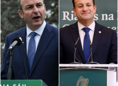 The leaders of the two largest Dáil parties are set to meet this week.