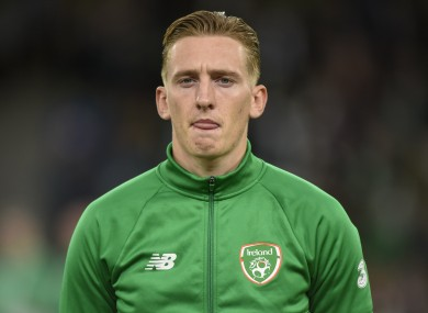 Ronan Curtis is in good form for his club.