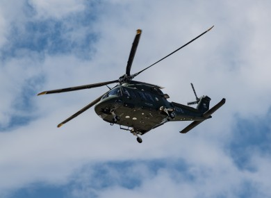 File photo of an Air Corps helicopter.