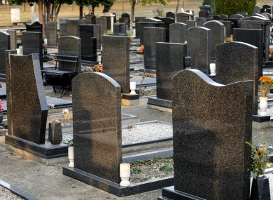 File photo of a graveyard.