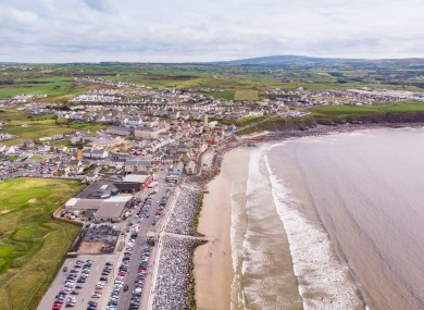 Lahinch in County Clare.