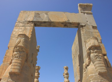 The ancient ruins at Persepolis are among some of the most treasured sites in Iran.