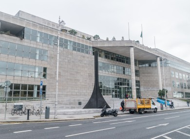 File photo. Dublin City Council building on Wood Quay.