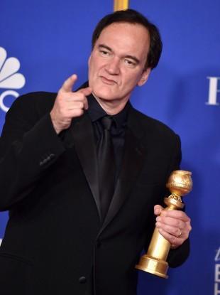 Quentin Tarantino won the Golden Globe for Best Screenplay.