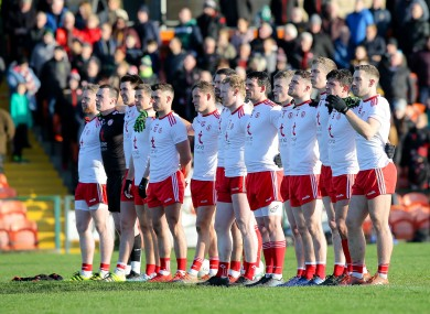 Tyrone: bidding for eighth McKenna Cup in nine years.