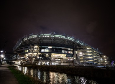 Croke Park (file photo) is unlikely to hosts concerts this summer.
