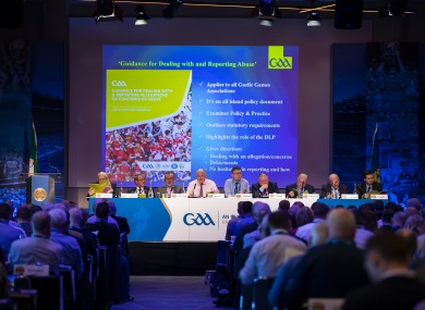A general view of the 2020 GAA Congress.