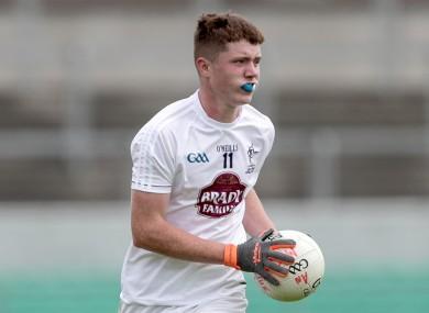 Alex Beirne top-scored for Kildare.