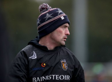 Kilkenny camogie manager Brian Dowling.