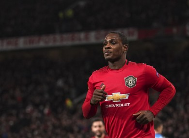 It was a special evening for Odion Ighalo as he grabbed his first goal for Manchester United.