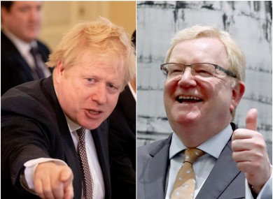 Boris Johnson and Jackson Carlaw