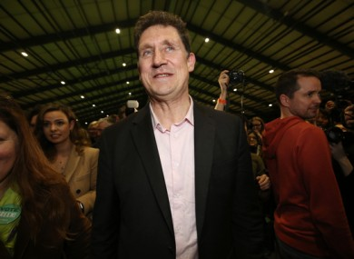 Eamon Ryan himself topped the poll in Dublin Bay South.