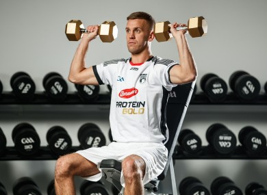 Jonny Cooper pictured at the launch of Avonmre Protein Gold.