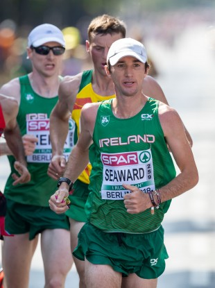 Seaward: bettered his PB by more than three minutes (file photo).