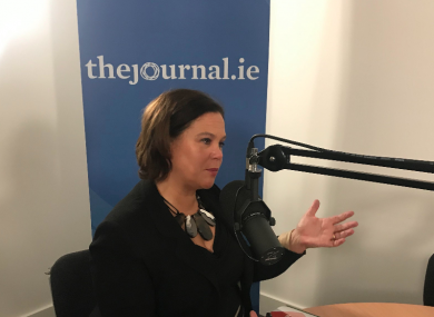Sinn Féin leader Mary Lou McDonald spoke to The Candidate Podcast this morning.