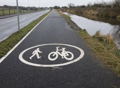 File photo - Kildare Section of Royal Canal Greenway