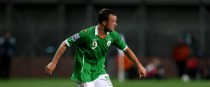 Noel Hunt pictured playing for Ireland in 2009.