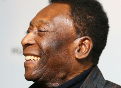 Brazil great Pele