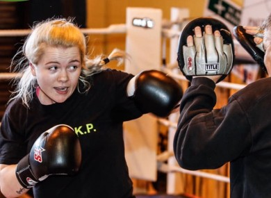 Katelynn Phelan, 19-year-old professional boxer [3-0].