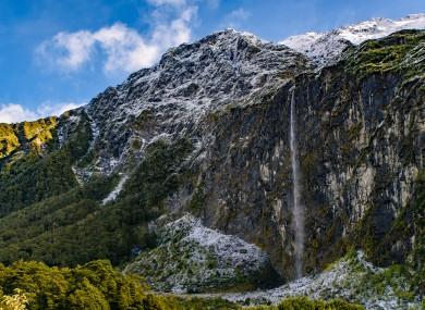 File photo of Mount Aspiring National Park.