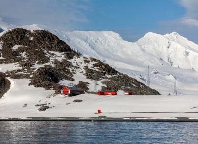 An Argentine Antarctic scientific research.