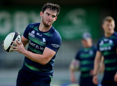 Tom Daly is one of five players who has signed a new deal with Connacht.