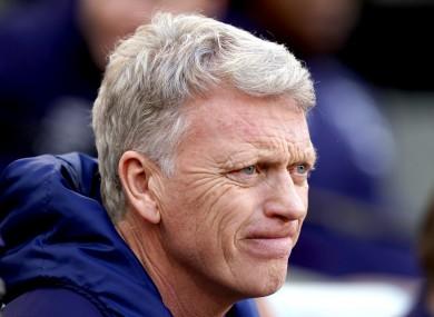 West Ham boss David Moyes (file pic).