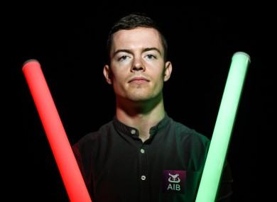 Mayo footballer Stephen Coen in attendance at the launch of the AIB Future Sparks Festival 2020.