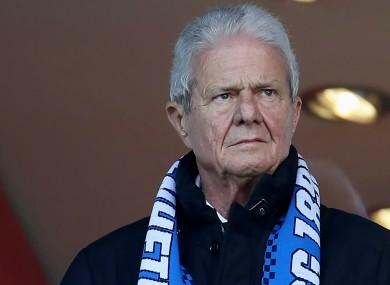 Hoffenheim owner Dietmar Hopp