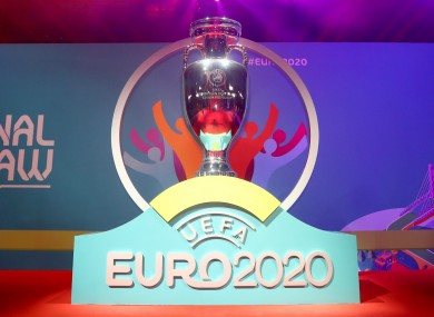 Euro 2020 has been postponed until next year.